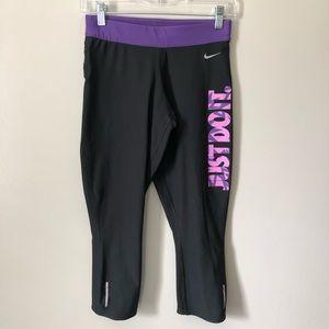 Nike Dri Fit Kapow Print Capri Leggings S